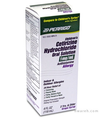Over the counter fexofenadine hydrochloride